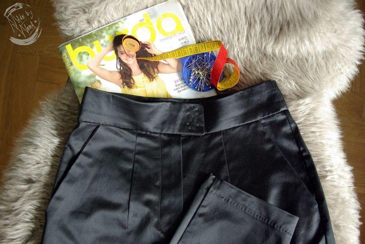 Trousers from Burda pattern.  Burda.pl