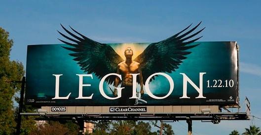 Valla publicitaria - Legion