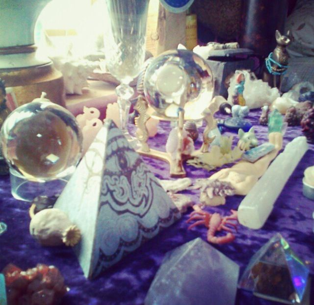 Crystal Visions Mystical Objects