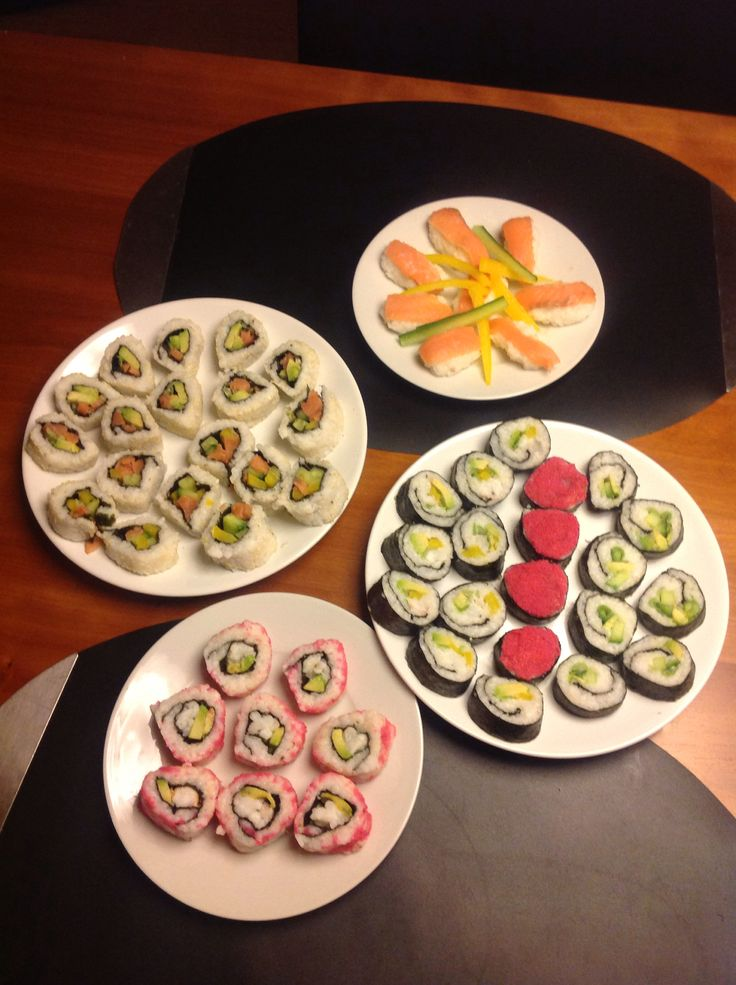 Sushi, home made