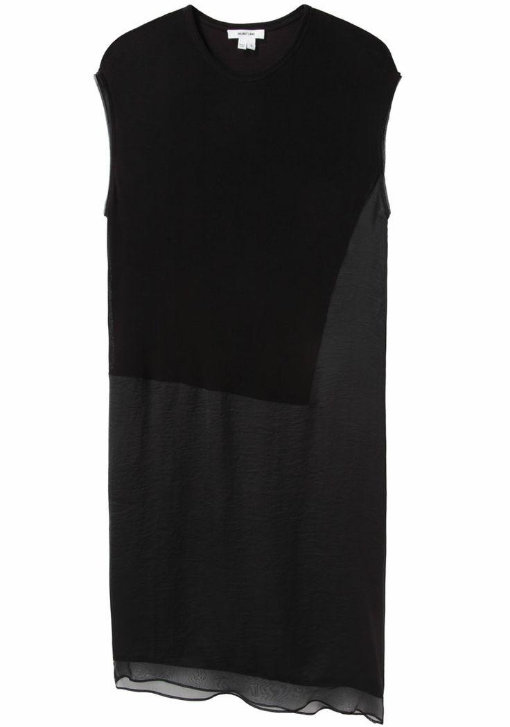 Helmut Lang / Layered Jersey Dress | La Garçonne