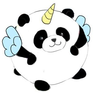Squishable Pandacorn- It's still a work in progress but It's really cute