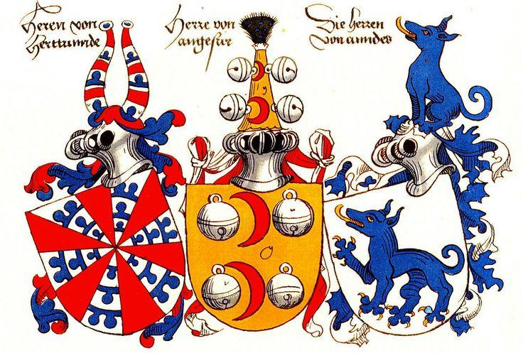 Drei Wappen / Three Coats of Arms / Tres Escudos Heráldicos