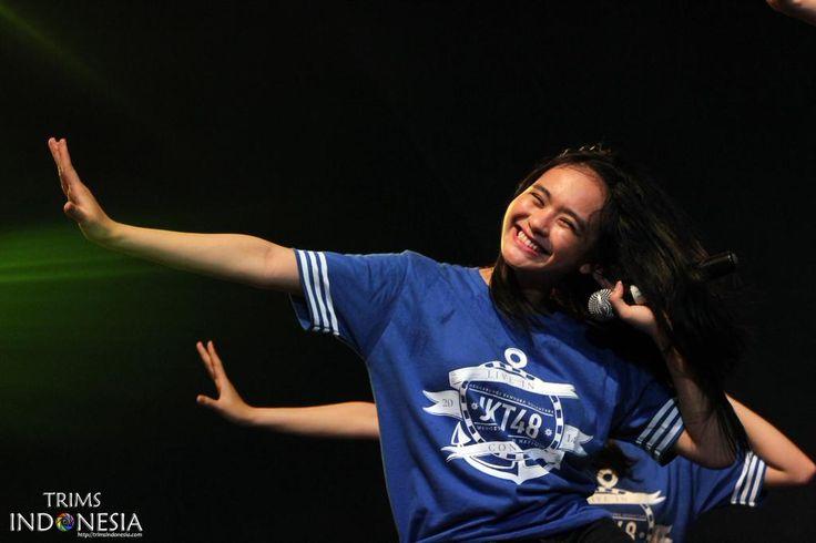 Riskha Fairunissa ( @Ikha_JKT48 ) || JKT48 Live in Concert Sidoarjo #MinR