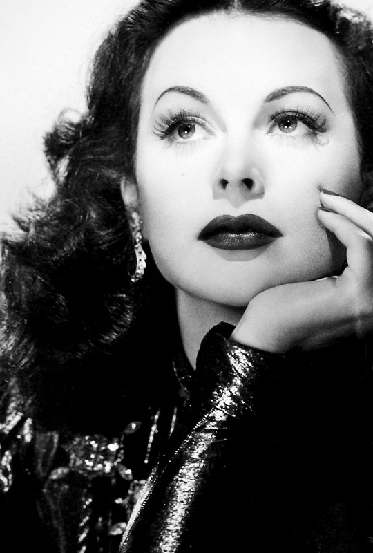 """ Any girl can be glamorous. All you have to do is stand still and look stupid."" Hedy Lamarr"