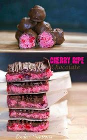The road to loving my Thermomix: Linda's Cherry Ripe Chocolate