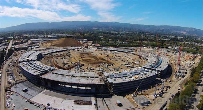 Apple: Apple Campus 2:  Video: more than half of Apple Campus 2 Spaceship Ring has topped out, just six months after it began rising - AppleInsider:  By Daniel Eran Dilger Saturday, October 17, 2015, 08:07 pm PT (11:07 pm ET) (http://appleinsider.com/articles/15/10/17/) #Apple #AppleCampus2