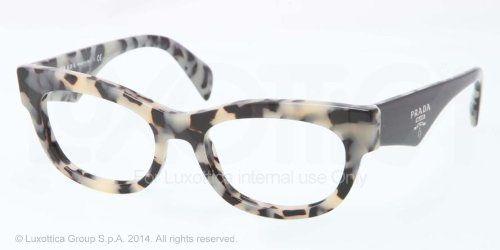 Prada PR13QV Eyeglasses-KAD/1O1 White Havana-52mm