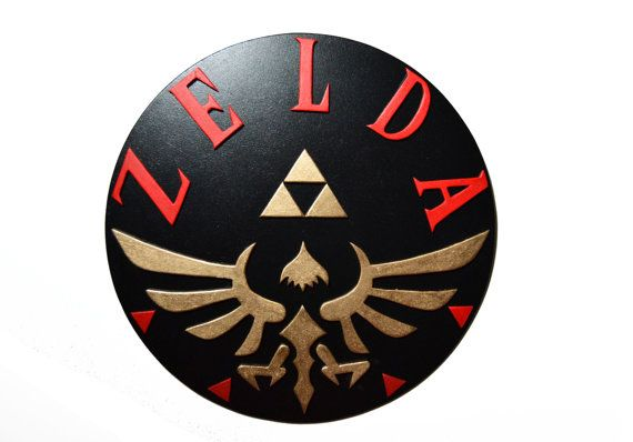Decoracion de pared de Legend of Zelda. Nintendo por PepitosAtelier