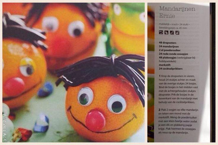 Ernie mandarijnen traktatie
