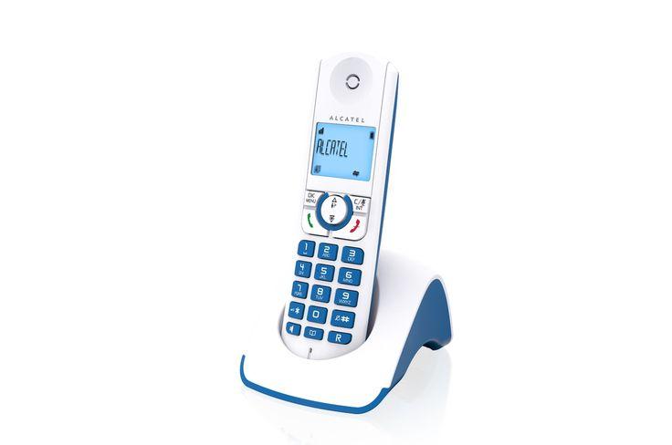 Téléphone sans fil Alcatel F 330 S Solo Bleu