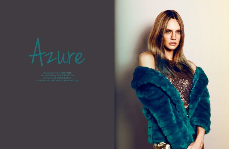 Jewellery by Kate McCoy for 'Azure' photoshoot in Papercut Magazine