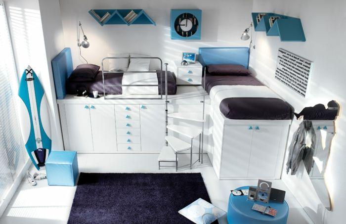 tolle gestaltung luxus jugendzimmer mit einem hochbett tami pinterest fur - Luxus Jugendzimmer