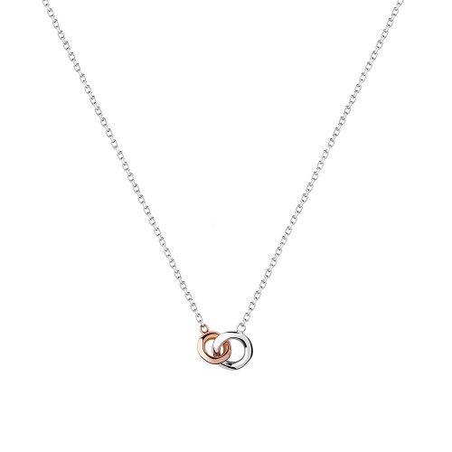 Links of London Silver 20/20 Interlocking Necklace