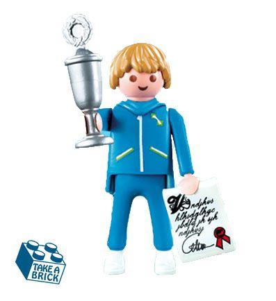 Playmobil Figure Serie 1 Sport champion