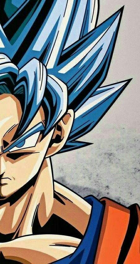 Super Saiyan Blue Goku!