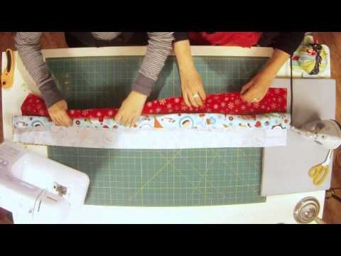 How to make pillowcases! Great video! I have used this to make pillowcases as Christmas gifts with Minky on one side and satin on the other. M\u2026 | Pinteres\u2026 & How to make pillowcases! Great video! I have used this to make ... pillowsntoast.com