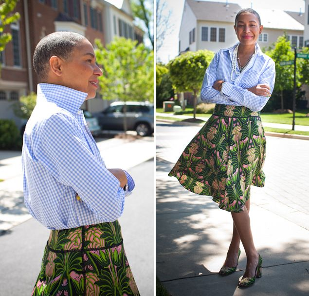 Brooks Brothers boys' shirt, and Prada skirt and shoes.: Fashion Outfit, Style Inspiration, Brooks Brother, Style Ideas
