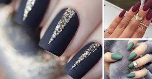 Картинки по запросу матовый дизайн ногтей