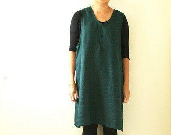 WOMENS linnen jurk / linnen kleding / linnen tuniek door PAMELATANG