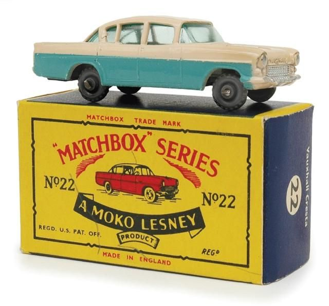 Matchbox cars.  My brother had a bunch and we had such fun
