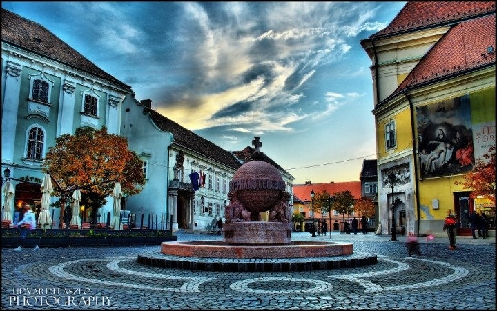The Orb in Szekesfehervar,Hungary