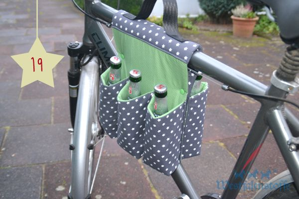 Flaschentasche für Herrenrad