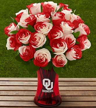 OMG. Sooners Flowers. Do want!