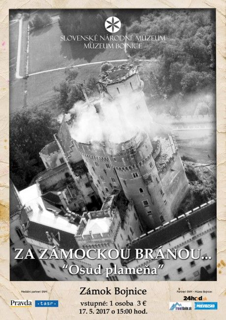 BOJNICE: Prednáška Osud plameňa v múzeu priblíži požiar zámku z mája 1 - Voľný čas - SkolskyServis.TERAZ.sk