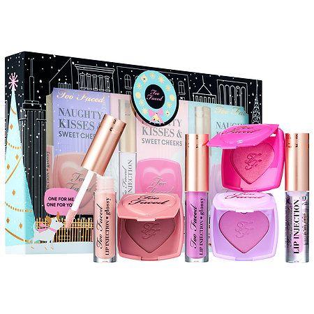 Naughty Kisses & Sweet Cheeks Set - Too Faced   Sephora