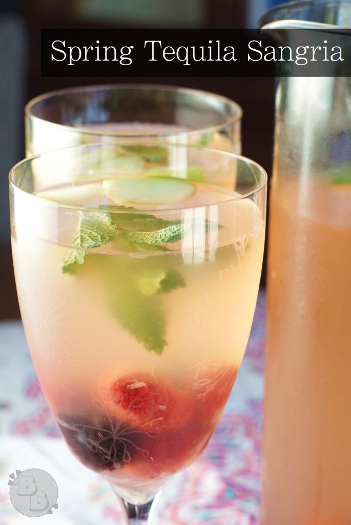 Spring Tequila Sangria | Recipe | Tequila Sangria, Tequila and Sangria