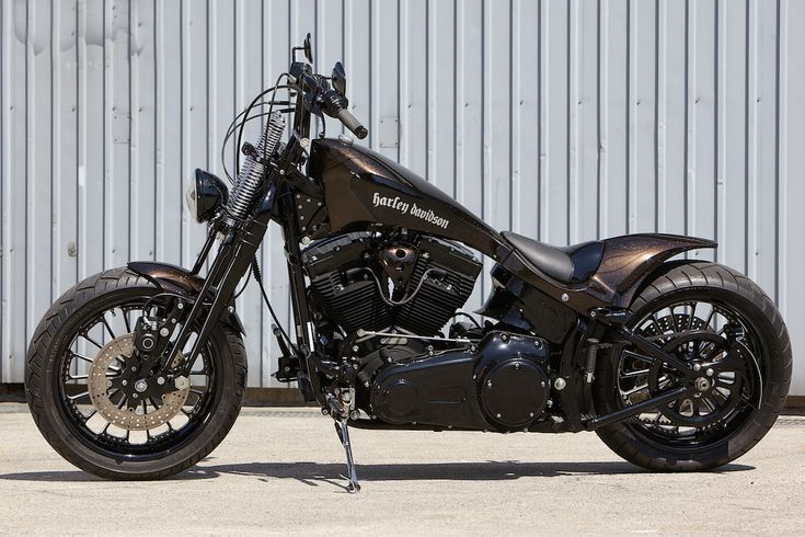 MASSANE : TWIN CAM SPRINGER SOFTAIL CUSTOM | BAD LAND #harleyxchange #harleydirtcheap
