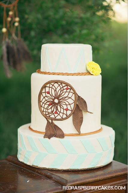 Dreamcatcher Hippie Wedding Cake Weddings Pinterest