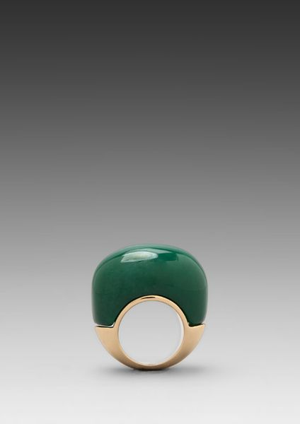 Trina Turk Green Marisa Ring in Green