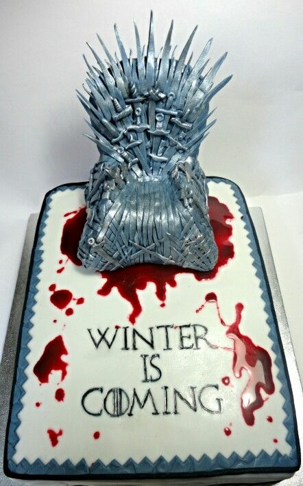 Game of Thrones - cake is coming! :P #GoT #ASOIF #IronThrone