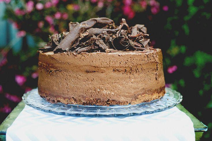 Chocolate Mousse Cake  Natrel