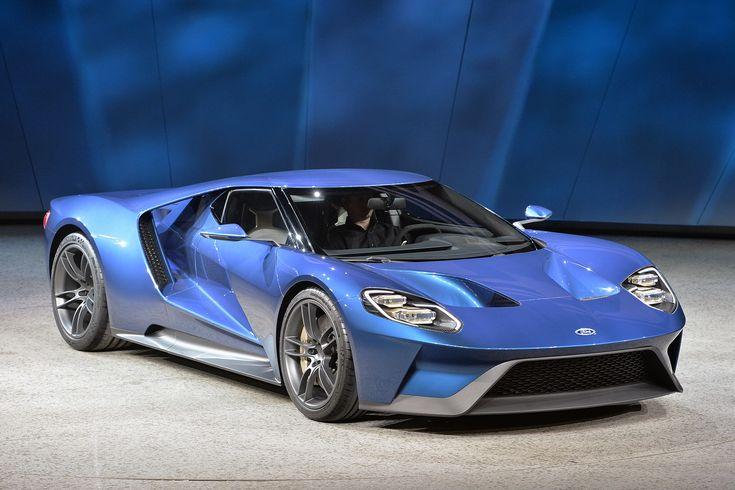 New Ford GT 北米国際自動車ショー2015
