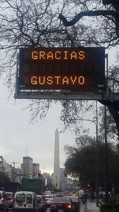 El homenaje de la ciudad de la furia a tu eternidad. / Gustavo Cerati