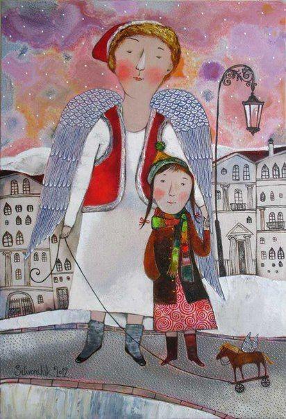 Ангелы среди нас Картины с ангелом Ангельские крылья