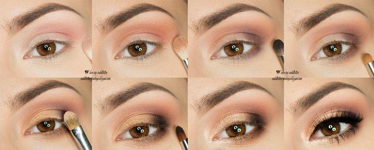 Soft Sparkle - makijaż sylwestrowy krok po kroku