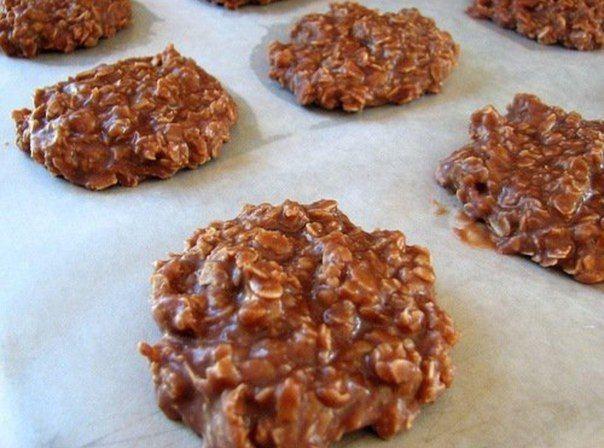 Шоколадное овсяное печенье / Медицина для всех