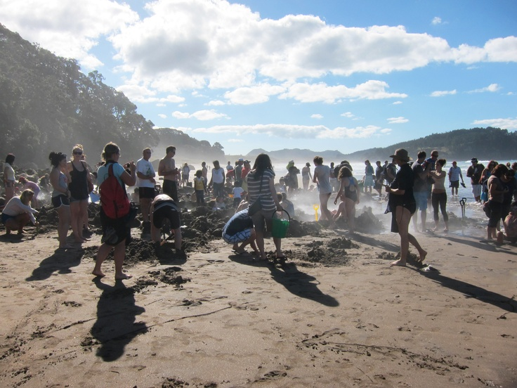 Hot water beach when it's too crowded and it wasn't even Summer. Easter weekend though 2012.