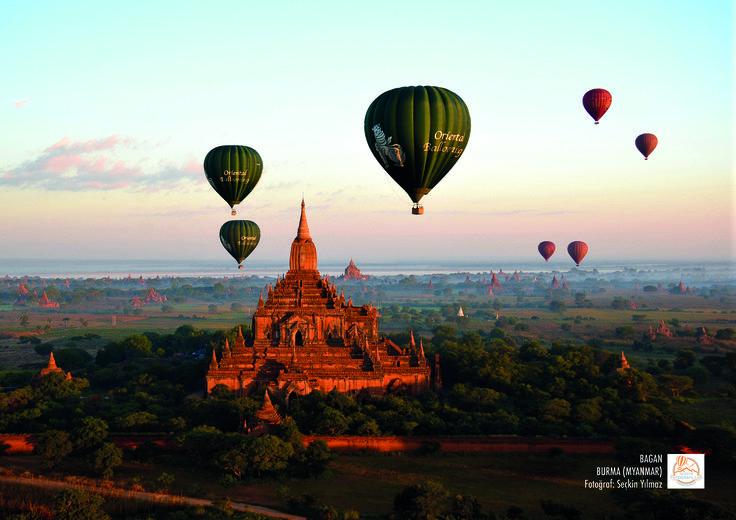 Bagan, Burma (Myanmar). Fotoğraf: Seçkin Yılmaz.