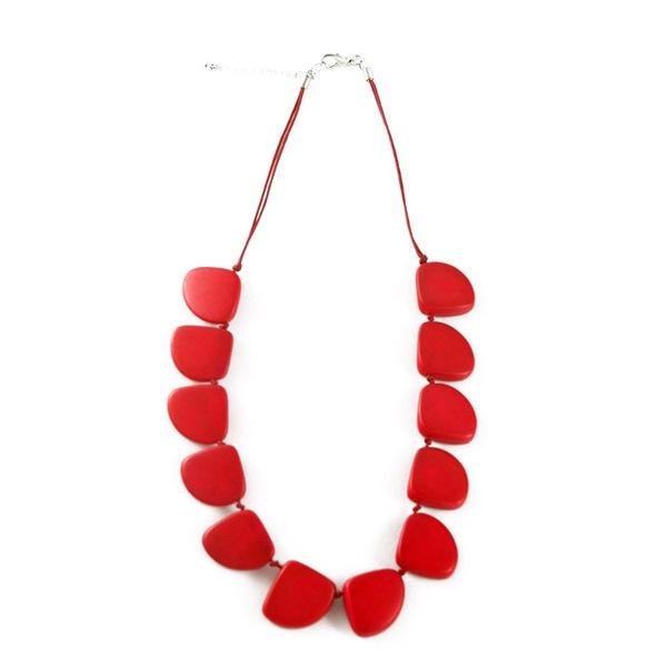 Vivid Jewellery - Elke Necklace Coral