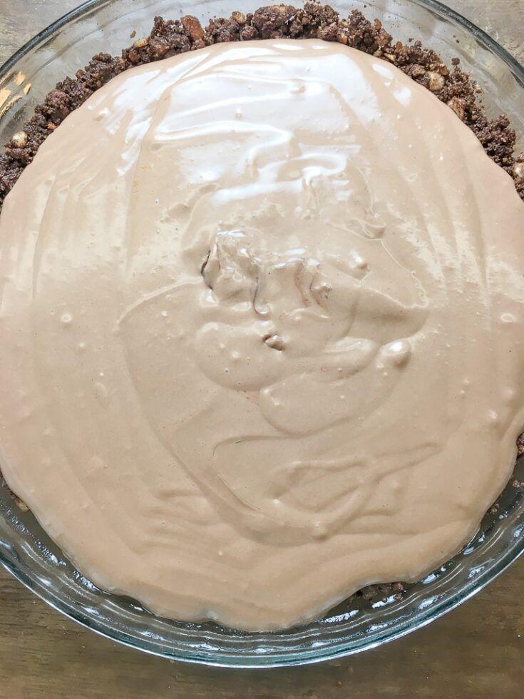 Sweetened Condensed Milk Chocolate Pie Recipe Chocolate Pies Desserts Chocolate Pie Recipes