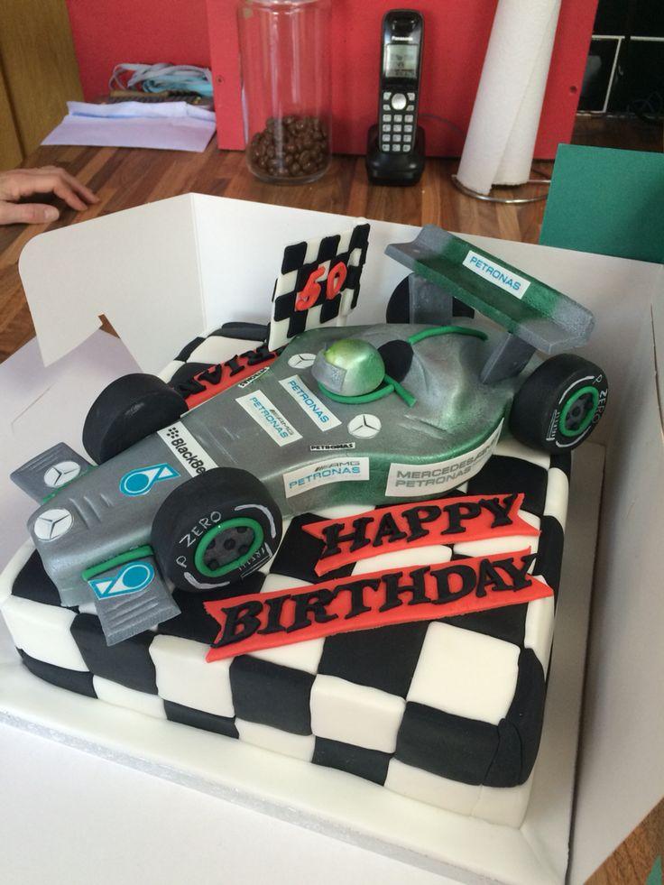 Formula 1 Cake Rjg Racing Cake Birthday Cake Cake