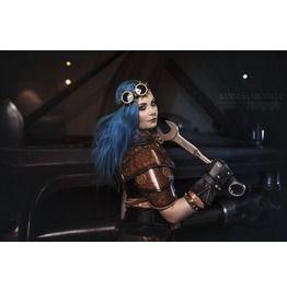 Spgog001: Steam Punk Style Goggles / Handmade