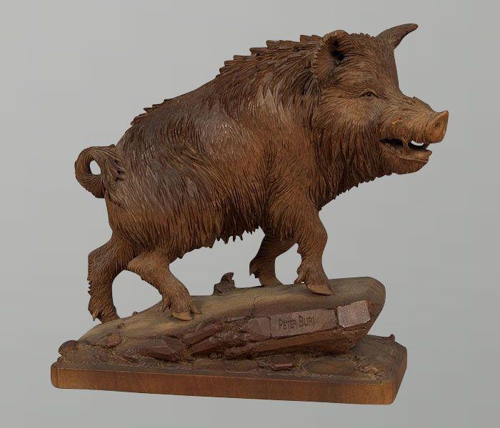 Best wood carved animals images on pinterest