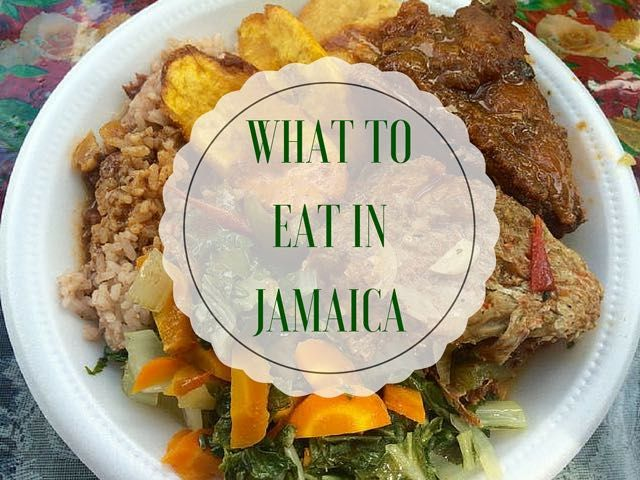 Want to know what to eat in Jamaica? Looking to try some traditional Jamaican food (and drinks) - here's what and where to eat from my visit to Jamaica.