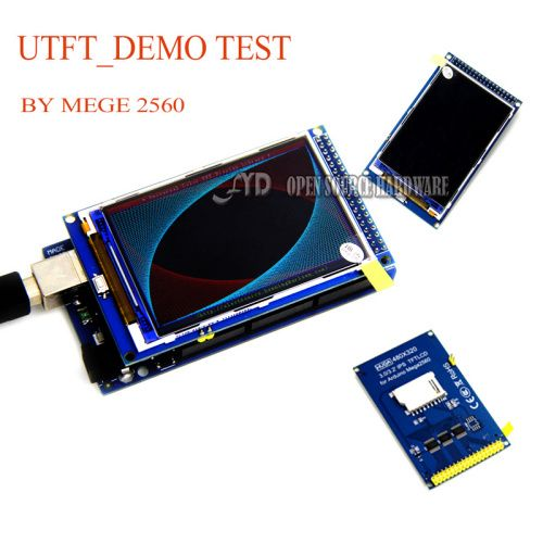 3.2 inch TFT LCD screen modul Ultra HD 320X480 untuk MEGA 2560 R3 Papan